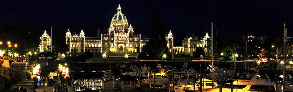 Parlament ve Victorii - Kanada