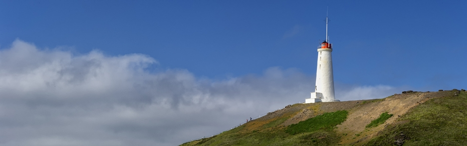 Maják na Islandu